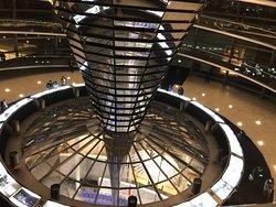Interior de la cúpula