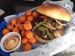 Daughter's veggie burger, she loved it