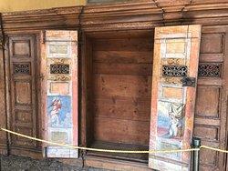 art inside the doors