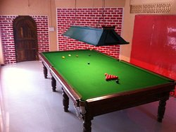 billiard rooms