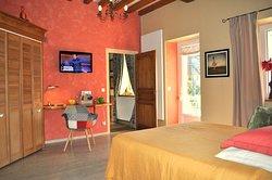 chambre grand confort avec lit 160x200, accès autonome