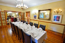 Our Restaurant set for a private function