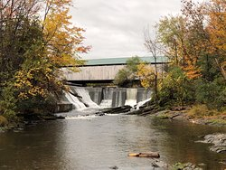 Pulp Mill Covered Bridge