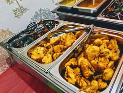 lunch buffet sat and sunday 12 to 2.30