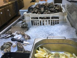Simply excellent fresh seafood