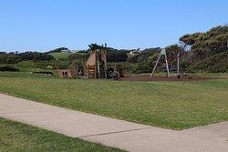 The playground for children