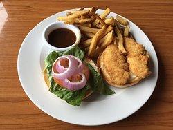 Shingle Bay Burger w/ Fries