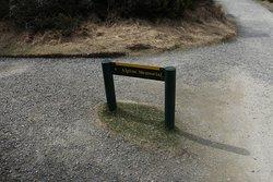 Alpine Memorial sign
