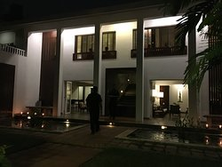 Quiet boutique hotel in the middle of the hustle and bustle of Colombo