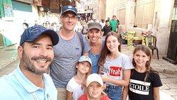 Visiter Jerusalem en famille en visite privée avec son guide francophone David Mansour