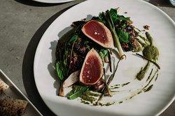 Seared seasonal tuna