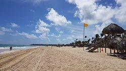 Playa extensísima