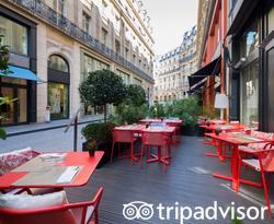 Restaurant at the Hotel Indigo Paris - Opera