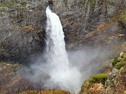 Manafossen Falls and Man Farm