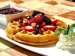 Breakfast- Waffle