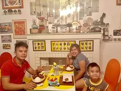 """""""Food tastes better when you eat it with your family & friends."""" Thank you!"""
