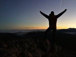 Nachtwanderung/Sonnenaufgang
