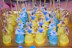 cake pops delle principesse