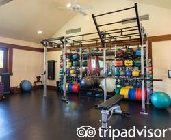 Fitness Center at the Four Seasons Resort Hualalai