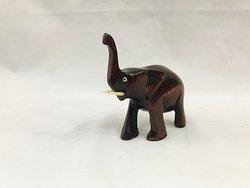 small mahogany elephant