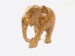 coconut wood elephant
