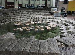 Wasserpilz Brunnen
