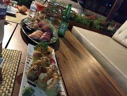 Sushi muito bom