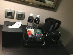 Water Coffee and Tea