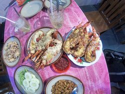Timang & Lobster meal