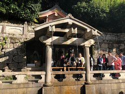 Kiyomizu-dera Temple -- 3 streams to choose from - academics, love and health