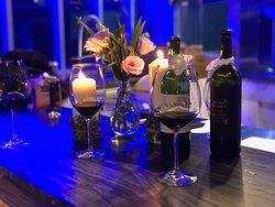 Wines, candles, great music and delicious food......
