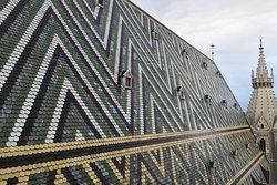Los originales azulejos de los tejados