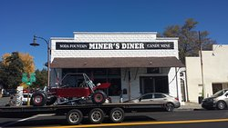 Authentic Diner and Soda Fountain in the historic Gold Rush town of Julian, California.