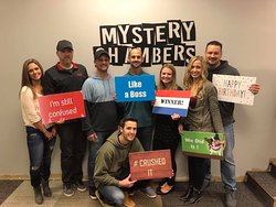 they escaped!