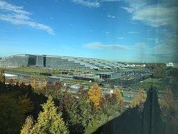 Les nouveaux bureaux de l'OTAN, vue depuis ma société