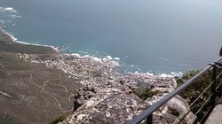 View from top Table Mountain
