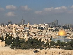 Jerusalem viewed from the mount of Olives