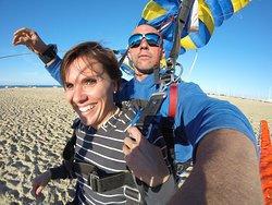 Atterrissage sur la plage
