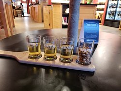 Cider tasting right on the main street!