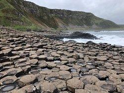 Fascinating geological formations, beautiful coastline!
