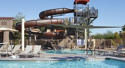 Amazing property with great pools, waterslides, quiet adult pool and great suites