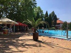 Indian summer in Sóstógyógyfürdő