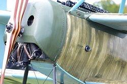 WWI fly IN DR I original WWI engine