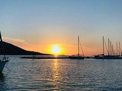 view at the marina