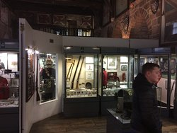 A good selection of historic displays