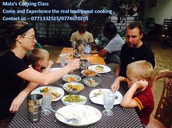 Our guests are loving and experiencing their lunch made by them after cooking class. Come and Enjoy your stay with us.