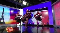 Cabaret La Belle Rose on Channel 7 The morning show