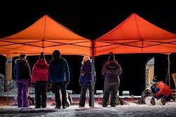 Une initiation de biathlon en nocturne