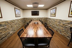 We have a private dining / conference room available for rent.