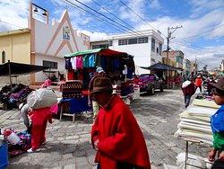 Marché Indigène de Guamote